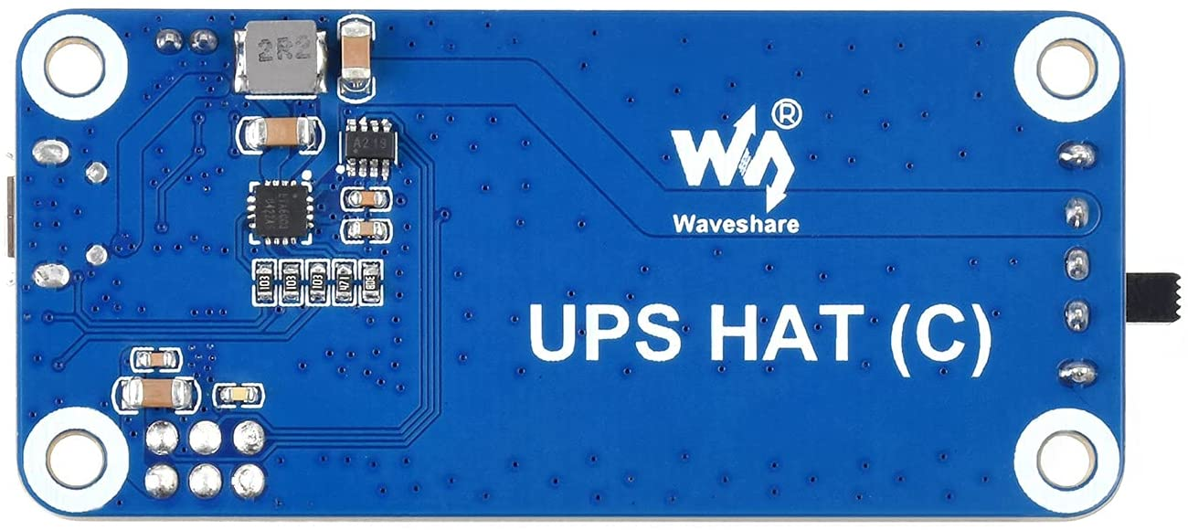 Waveshare UPS HAT (C) for Raspberry Pi Zero 5V Uninterruptible Power Supply Multi Battery Protection Circuits