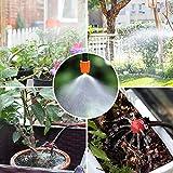 CLIUS Tropfbewässerungs-Set, 30 m, Blumen, selbstgemachte automatische Bewässerung,...
