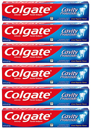 6-Pack 6-Oz Colgate Cavity Protection Toothpaste w/Fluoride $6.39 w/S&S and coupon
