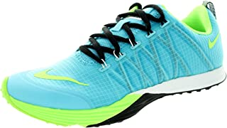 Women's Lunar Cross Element Clearwater/Flsh Lime/Blk/White Running Shoe 8.5 Women US