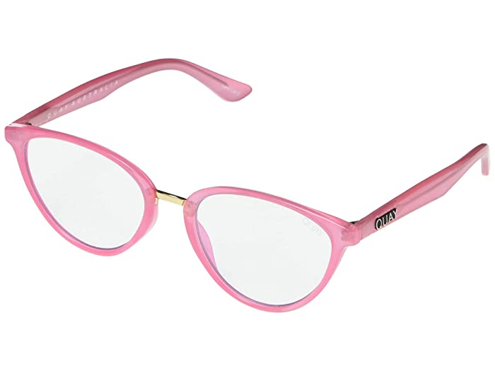 Rumors (Pink/Clear Blue Light) Fashion Sunglasses