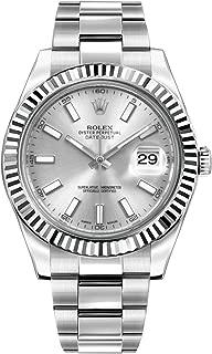 Datejust II 41 116334 Silver Dial Men's Watch
