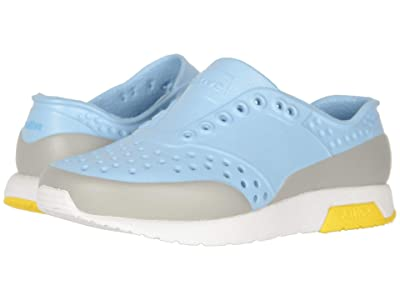 Native Kids Shoes Lennox Block (Toddler/Little Kid) (Sky Blue/Shell White/Crayon Yellow/Pigeon Block) Boy