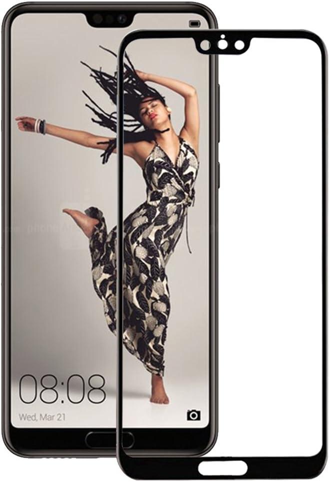 Pellicola Huawei P20 pro, COOKAR 9H Durezza, Touch compatibile, senza bolle, Anti-olio, Anti-impronta anti-graffio 3D Full Cover Vetro Temperato pellicola protettiva per Huawei P20 pro(Nero)