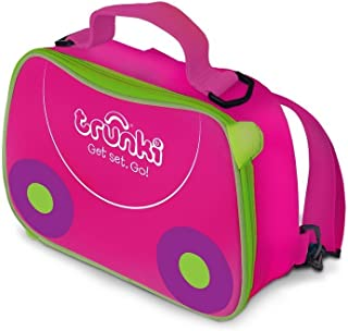 Trunki Kids Insulated Lunch Bag & Backpack With Shoulder Strap - Trixe (Pink)