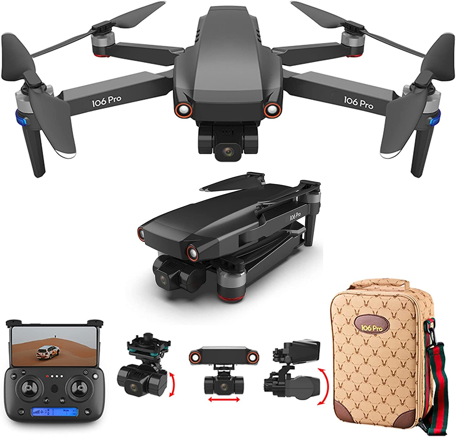 GACYSMD Drone 8K Camera Popular brand in Popular product the world Real-time Broadcast Brushless Thre Video