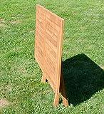 ASS ECHT Teak Holz Klapptisch Holztisch Gartentisch Tisch in verschiedenen Größen - 4