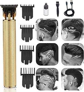 GBHJJ hårklippare män elektrisk, skklippare, T-blad-hårklippare frisör hårskurning vårdsset maskin professionell uppladdni...
