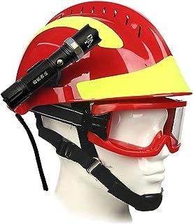 Romacci Capacete de resgate de emergência F2 Capacete de segurança para bombeiro Capacete de proteção contra incêndio no l...