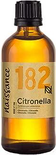 Naissance Aceite Esencial de Citronela n.º 182-100ml - 100% puro, vegano y no OGM