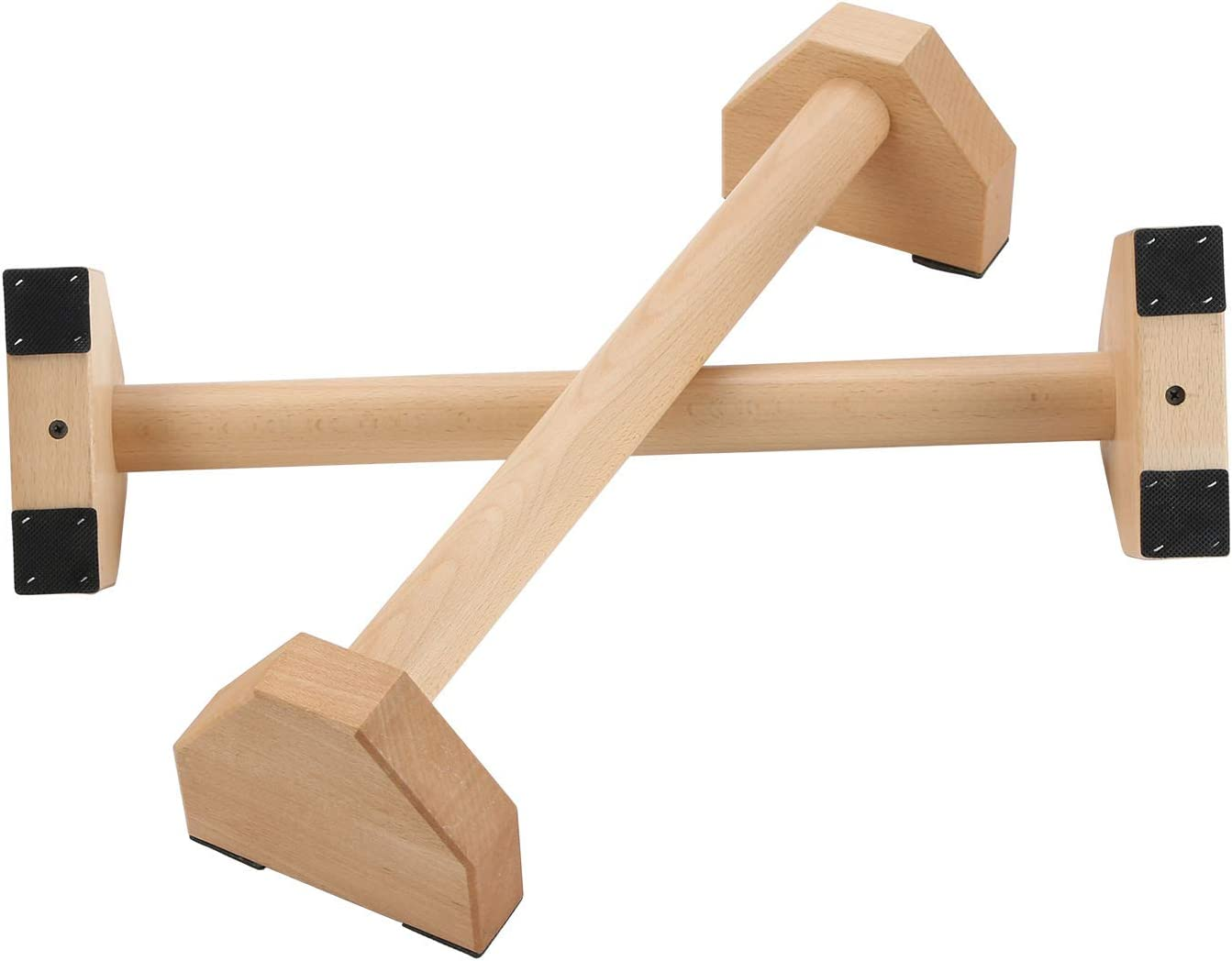 Pushup Stands - OFFicial store Wooden Push Up Bars with Equipment Gear SALENEW very popular Gym Anti