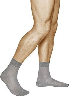 vitsocks, Calcetines Verano LINO-Algodón Hombre (3 PARES) Muy Transpirables