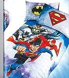 Caleffi Quilt Tagesdecke WB Superhelden–Digitaldruck Single cm 170x 265 Ausgeschlossen Bettlaken & Zubehör