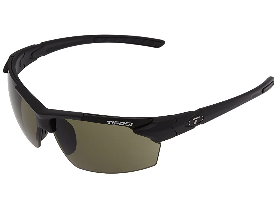 Tifosi Optics Jettm (Matte Black) Athletic Performance Sport Sunglasses