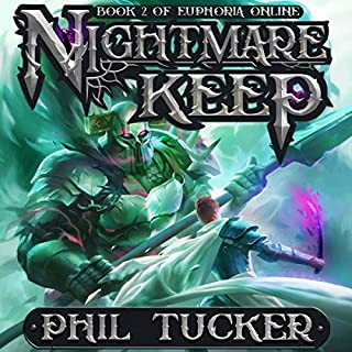 Nightmare Keep audiobook cover art