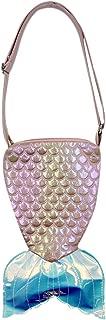 Cute Mermaid Tail Crossbody Bag Fashion Holographic Purse Colorful Laser Waterproof Handbag Shoulder Bag for Women Girls