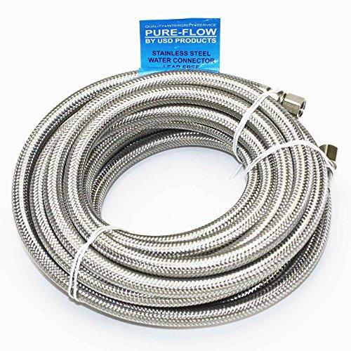 braided refrigerator water line - 6