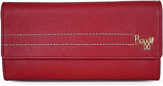 Baggit Autumn-Winter 2019 Faux Leather Women's 3 Fold Wallet (Red) (Cinepolis)