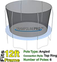 Trampoline Replacement Nets for Top Ring Models | Sizes 12 ft - 14 ft - 15 ft | Net Only | Poles Not Included | Top Ring Not Included