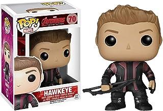 Funko Hawkeye: Avengers - Age of Ultron x POP! Figura de vinilo de Marvel y 1 POP. Paquete de protectores gráficos de plástico PET compatibles [#070 / 04781 - B]