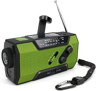 防災ラジオ 緊急用ラジオ 手回しラジオ AM/FM対応 2000mAh ソーラー充電 USB充電 4way充電 多機能 ラジオライト 防災グッズ 軽量 震災 津波 台風 停電緊急対策