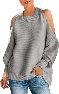 Best knit cold shoulder sweater Reviews