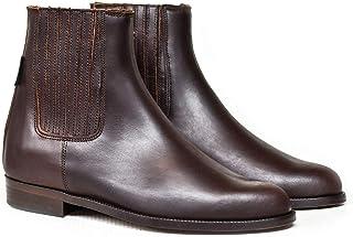 Botas y Botines Piel marrón para Hombre y Mujer Chelsea cl