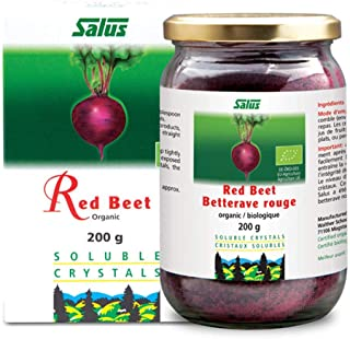 Sponsored Ad - Flora Organic Red Beet Root Powder Soluble Crystals 7 Ounce - Concentrated Circulation Superfood - Nitric O...