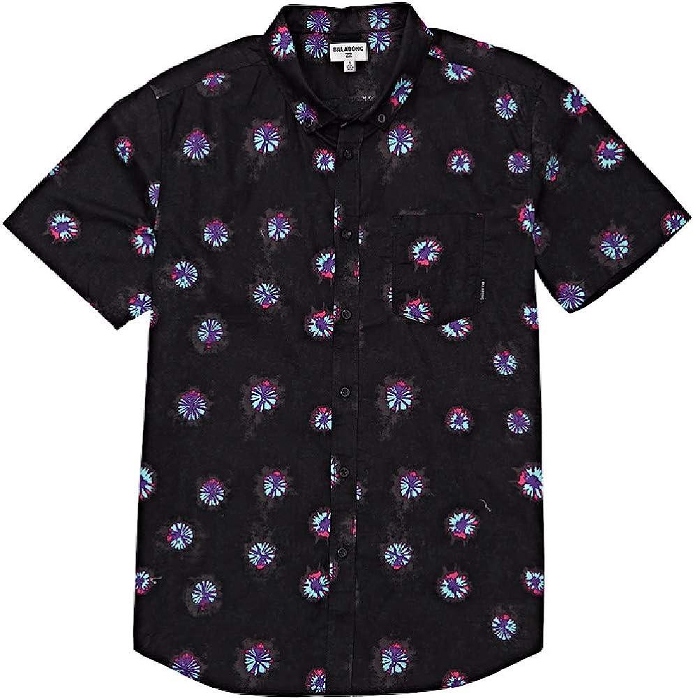 Billabong Men's Sundays Ranking TOP5 Mini Woven Shirt Sleeve A surprise price is realized Short