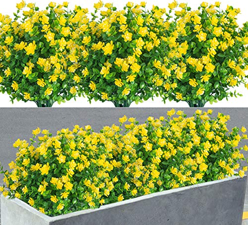 8 Pack Artificial Flowers Fake P...