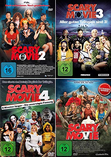 Scary Movie 2 + 3 + 4 + 5 Collection [4er DVD-Set]