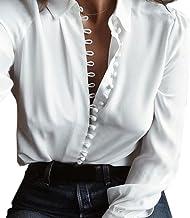 vente en magasin styles de mode recherche d'authentique Amazon.fr : Chemisier Manches Bouffantes