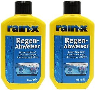 2x Rain X Regenabweiser 200 ml Scheibenwischer Auto Scheibenreiniger