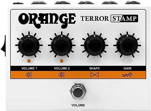 discount Orange Terror Stamp 20W Valve Hybrid Guitar Amp outlet sale Pedal online (Renewed) online