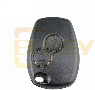 R Caja de llave TOOGOO Caja de llave Cascara de llave sin llave remoto de coche de 3 botones de reemplazo sin cortar