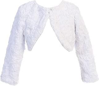 iGirlDress Girls Cozy Faux Fur Bolero Dress Jacket Sweater Shrug