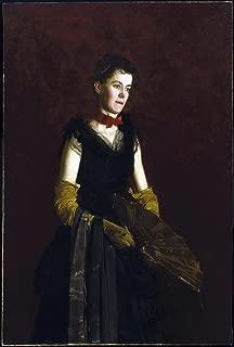 The Museum Outlet - Thomas Eakins - Letitia Wilson Jordan - Poster Print Online Buy (40 X 50 Inch)