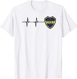 Boca Juniors Argentinian Soccer Jersey T-shirt