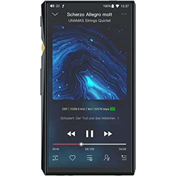 FiiO M11 Pro Android Hi-Res Lossless MP3 Music Player with Dual AK4497, THX AAA amp, MQA, aptX/atpX HD/LDAC/Bluetooth/DSD/Tidal/Spotify/5G WiFi/4.4 Balance Output, Full Touch Screen