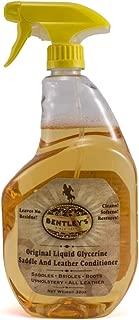 Bentley Liquid Glycerine Saddle & Leather Conditioner Soap - 32 oz Spray Bottle