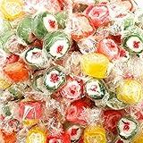 Caramelle Super Rocks alla Frutta Kg 1 - Caramelle dure Rock ai gusti: arancia, limone, uv...