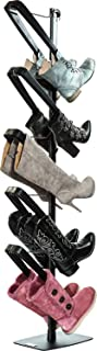 Boot Butler Standing Boot Rack – As Seen On Rachael Ray – Clean Up Your Floor & Protect Your Boots – 5-Pair Stand Organizer & Shaper/Tree