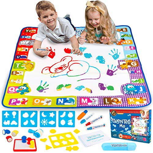 DNA SHIFT Water Doodle Mat for Toddler Educational Toys