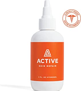 Active Skin Repair Hydrogel – The Non-Toxic, Natural Antibacterial Healing Ointment & Wound Gel for cuts, scrapes, rashes, sunburns and Other Skin irritations (3oz)