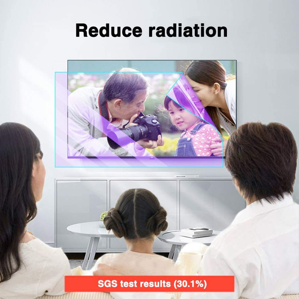 DPPAN 65 Pulgadas Antirreflejos TV Protección de Pantalla para ...