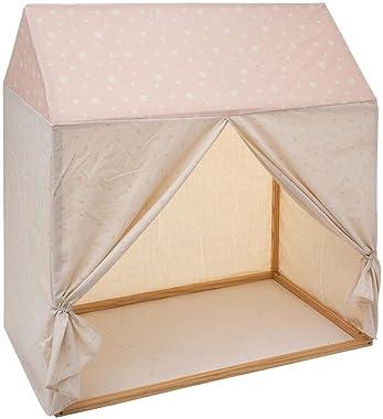 Atmosphera - Toile pour Cabane en Bois 116 x 126 cm modèle Fille