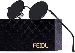Kính mắt cao cấp nam – Retro Polarized Round Sunglasses for Men Vintage Sunglasses Women FD3013