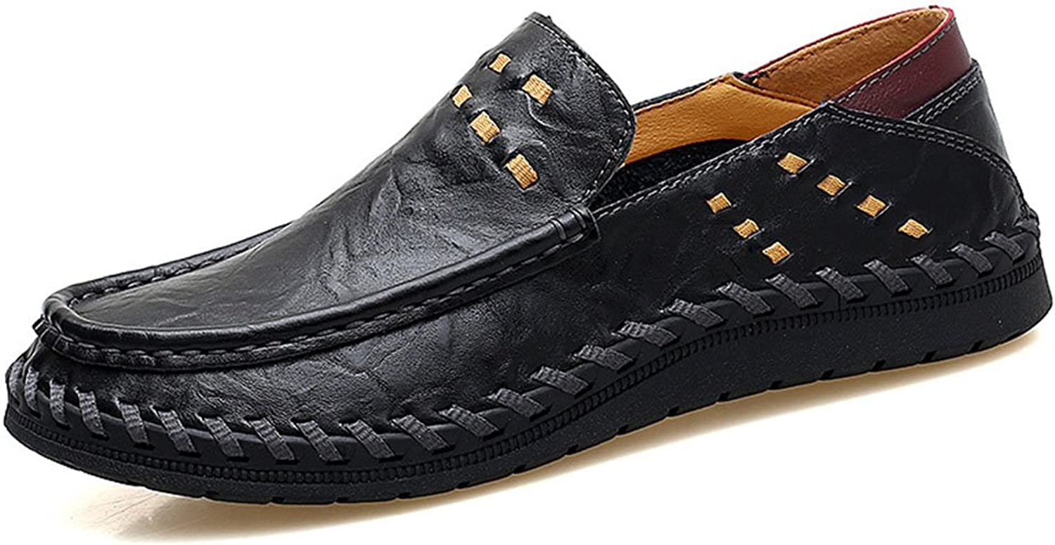 Summer Leather shoes for Men with Leather Outdoor Handmade shoes