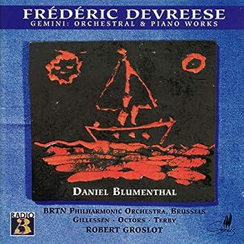 Devreese: Gemini - Orchestral & Piano Works