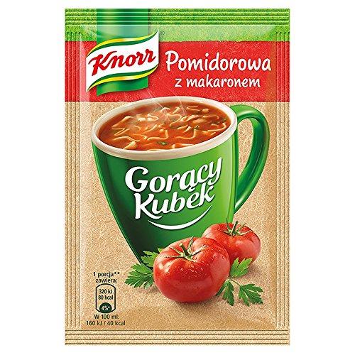 Knorr Heiße Tasse Tomatensuppe mit Nudeln 19 g